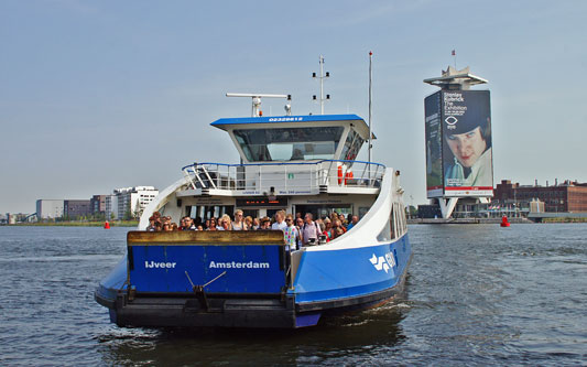 AMSTERDAM GVB FERRIES - www.simplonpc.co.uk - Photo: © Ian Boyle, 13th August 2012