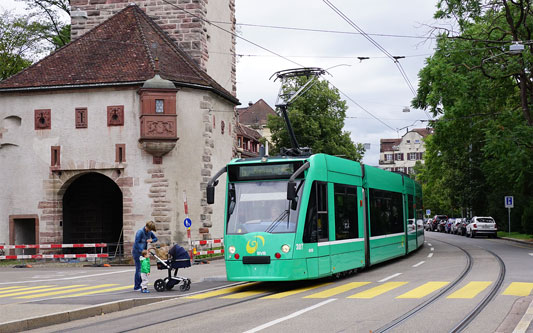 Basel Trams - www.simplonpc.co.uk