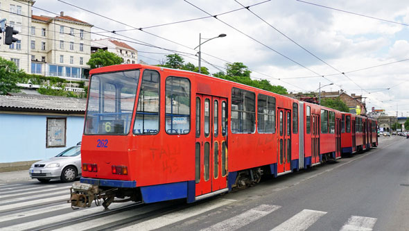 Belgrade KT4 Tram - www.spimplonpc.co.uk - Photo: ©Ian Boyle 17th May 2016