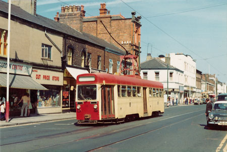 BLACKPOOL TRAMS - Photo: ©1978 Ian Boyle - www.simplompc.co.uk - Simplon Postcards