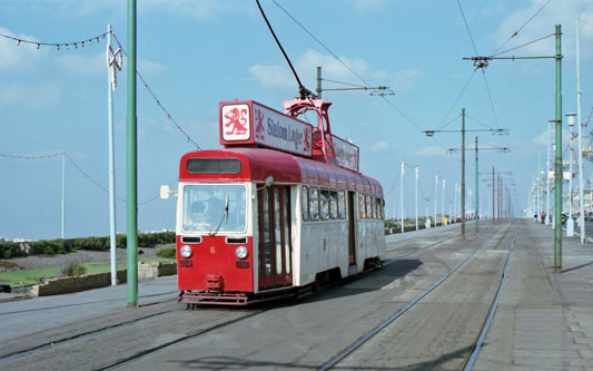 BLACKPOOL TRAMS - Photo: ©1979 Ian Boyle - www.simplompc.co.uk - Simplon Postcards