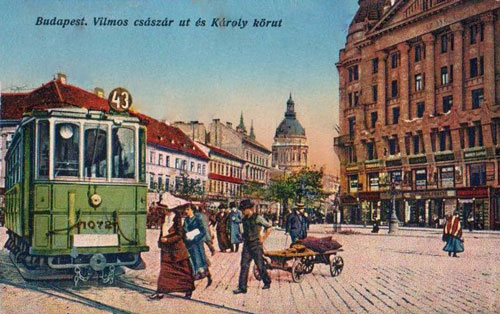 Budapest Trams - www.simplonpc.co.uk