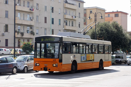 CAGLIARI TROLLEYBUSES - www.simplompc.co.uk - Simplon Postcards