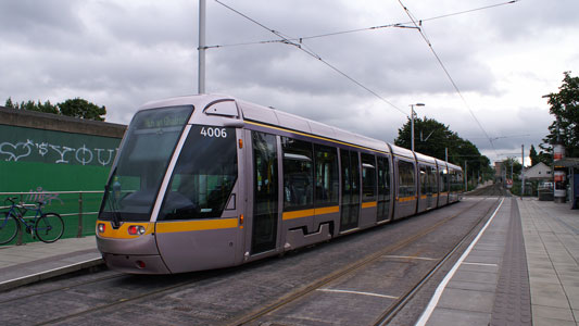 Dublin LUAS Trams - Photo: ©2008 Ian Boyle - www.simplompc.co.uk - Simplon Postcards