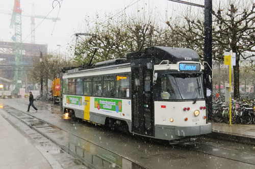 Gent PCC Tram - Photo: © Ian Boyle, 5th December 2012 - www.simplonpc.co.uk