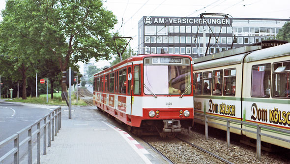 Koln-Bonn Stadtbahn Trams - www.simplonpc.co.uk - Photo: ©1980 Ian Boyle