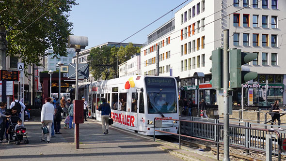 Koln-Bonn Stadtbahn Trams - www.simplonpc.co.uk - Photo: ©2017 Ian Boyle