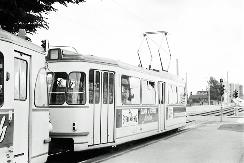 Koln-Bonn Trams - www.simplonpc.co.uk - Photos: ©1974  Ian Boyle