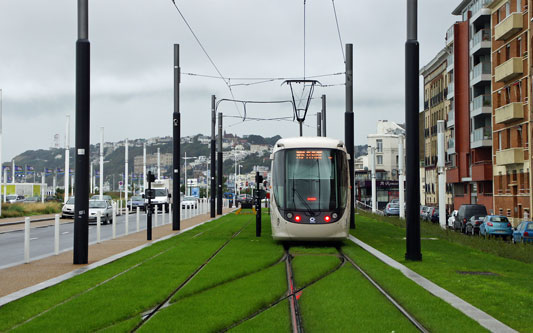 Le Havre Tramway - Photo: ©2013 Ian Boyle - www.simplonpc.co.uk