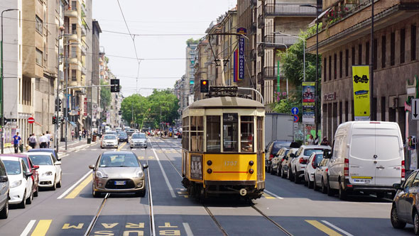 ATM - Milan Trams - Peter Witt - www.simplonpc.co.uk