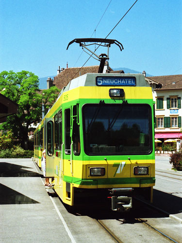 Tramway Neuchatel - www.spimplonpc.co.uk - Photo: ©Ian Boyle 17th May 2016