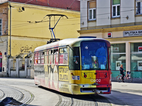 Osijek Tatra Tram - www.spimplonpc.co.uk - Photo: ©Ian Boyle 17th May 2016