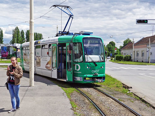 Osijek Tatra Tram - www.spimplonpc.co.uk - Photo: ©Ian Boyle 16th May 2016