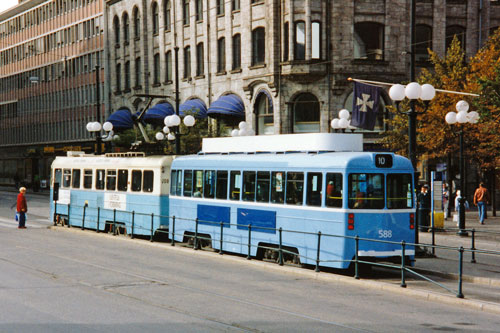 Oslo Trams - Photo: ©1993 Ian Boyle - www.simplompc.co.uk - Simplon Postcards