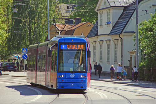 Stockholm Trams - Photo: ©2013 Ian Boyle - www.simplompc.co.uk - Simplon Postcards
