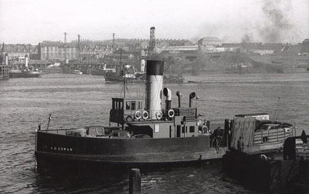 A.B.Gowan - River Tyne - Jarrow Ferry - www.simplonpc.co.uk