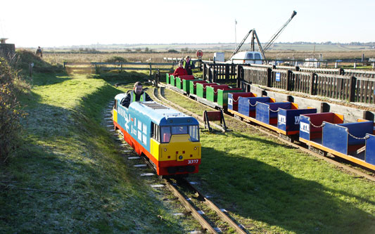 Wat Tyler Miniature Railway - Photo: � Ian Boyle, 2nd December 2012 -  www.simplonpc.co.uk