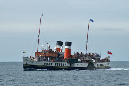WAVERLEY (1947) - Waverley Excursions - Photo: © Ian Boyle, 5th September 2007 - www.simplonpc.co.uk