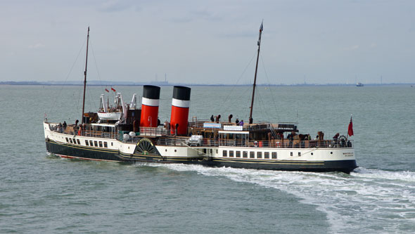 WAVERLEY (1947) - Waverley Excursions - Photo: © Ian Boyle, 9th October 2012 - www.simplonpc.co.uk