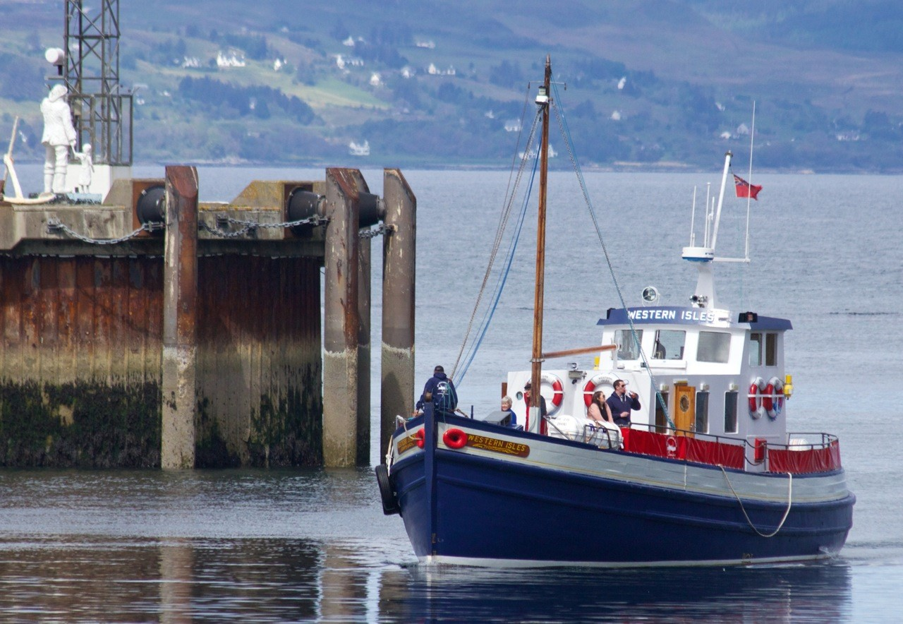 MV WESTERN ISLES -Knoydart Ferry - Photo: ©Western Isles Cruises - www.simplonpc.co.uk