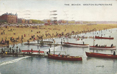 Beach Boats - Weston-super-Mare - Photo: � Ian Boyle, 18th September 2010 - www.simplonpc.co.uk