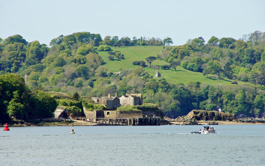 Drake's Island - Plymouth Boat trips - Photo: © Ian Boyle, 14th May 2014 - www.simplonpc.co.uk