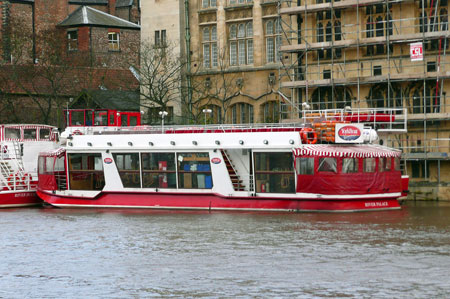 River Palace - York Boat - Photo: © Ian Boyle, 18th Novembe2009