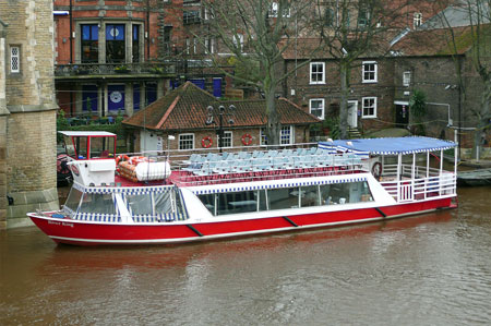 River King - York Boat - Photo: © Ian Boyle, 18th Novembe2009