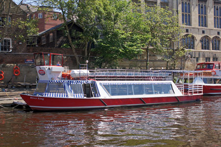 River King - York Boat - Photo: © Ian Boyle, 16th June 2010