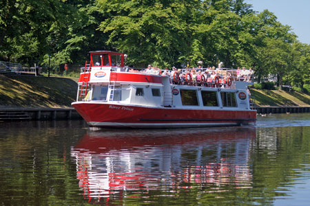 RIVER PRINCE - York Boat - Photo: © Ian Boyle, 16th June 2010
