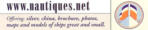 Nautiques - Your gateway to the rich past of ocean liner nautical antiques - www.nautiques.net